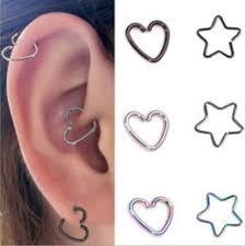 ear piercing hoop hoop ear piercing cartilage online hoop ear piercing cartilage