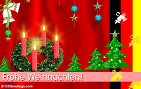 wish a merry in german free german ecards greeting