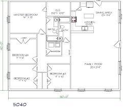 Pole Barn House Plans Attractive Inspiration 4 Bedroom Pole Barn House Floor Plans 13