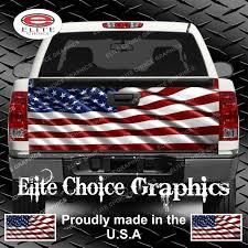 American Flag Specs American Flag Truck Tailgate Wrap Vinyl Graphic Decal Sticker