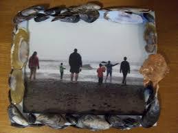 bigfamiliesbigideas craft time sea shell picture frame