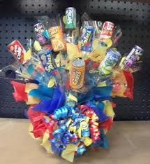 How To Make A Candy Bouquet Candy Bouquets