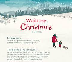 waitrose christmas online 2016 on behance