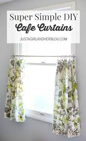 Tension Rods For Windows Ideas Best 25 Cafe Curtains Ideas On Pinterest Kitchen Curtains Cafe