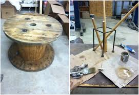 outdoor tables made out of wooden wire spools 13 creative diy table designs for all styles and tastes