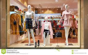 clothes shop fashion shop window clothing store front stock photo image 63352967