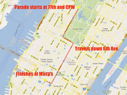 new route for macy s thanksgiving day parade 2012 cbs new york