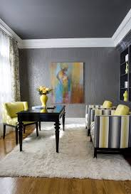perfect gray home office from ballard designs loving the yellow inspiration gray home office