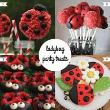 Ladybug Themed Baby Shower Cakes - ladybug party centerpiece my parties my parties pinterest