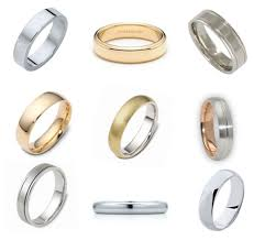 types of mens wedding bands wedding ring roundup traditional polka dot