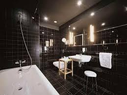 stylish bathroom ideas creating a stylish bathroom wall tiles design with black themes