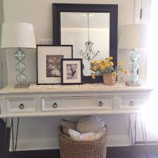 Hallway Console Table And Mirror Console Table Ls Houzz For Inspirations 10 Willothewrist