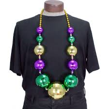 ball bead necklace images Jumbo disco ball necklace jpg