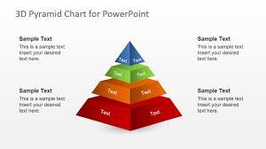 free 3d segmented pyramid slide for powerpoint slidemodel