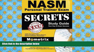 audiobook secrets of the nasm personal trainer exam study guide