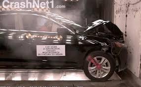 lexus ct200h vs acura ilx 2013 acura ilx 25mph 40kph frontal crash test by nhtsa
