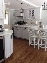 kitchen redo painted cabinets benjamin moore white dove home