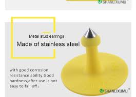 cow tag earrings poultry farming equipment tags for animals allflex cow tag