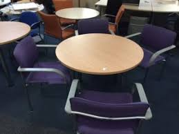 Circular Meeting Table Used Meeting Room Tables New U0026 Used Office Furniture Glasgow
