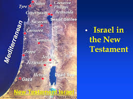 Blank Map Of Israel by New Testament Maps Ebibleteacher