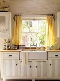 Voguish Kitchen Window Curtains Pertaining To Windowscurtain Ideas - Simple kitchen curtains
