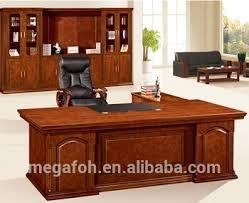 bureau directeur noyer antique en bois mobilier de bureau directeur général bureau