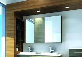 recessed bathroom mirror cabinets recessed wall storage medium size of recessed bathroom mirror