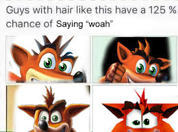 I Know Your Meme - crash bandicoot woah crash bandicoot game character and meme