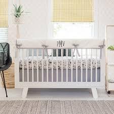Baby Nursery Bedding Woodland Crib Bedding Rustic Baby Bedding Woodland Nursery