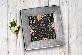 wedding invitation plate keepsake newlywed gifts wedding invitation keepsake plate