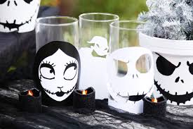 the nightmare before disney family candle holders