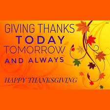 giving thanks always due to the thanksgiving celebration we will