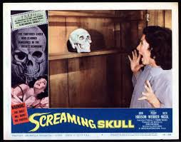 the screaming skull 1958 lobby card cinema fantastique