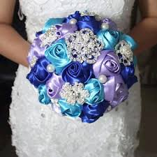 purple and blue wedding best blue flowers for wedding bouquet products on wanelo