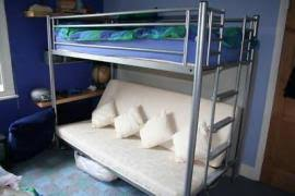Jaybe Bunk Bed Cost To Transport Jaybe Bunk Bed Underneath Sofa From