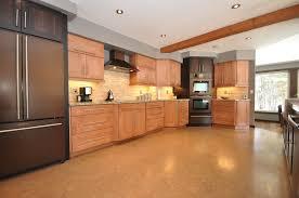 Ideas For Cork Flooring In Kitchen Design Kitchen Cork Floor Types Overview Small Design Ideas
