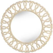 25 best collection of shabby chic cream mirrors