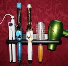 bathroom bathroom hair dryer storage organizer rack comb holder