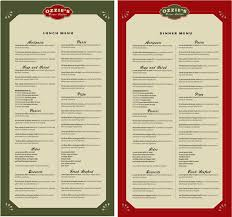 image gallery of italian menu design ideas