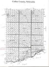 colfax county neb plat map