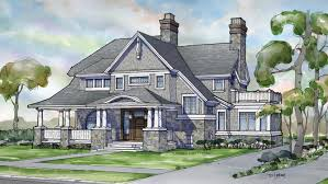 Southern Farmhouse Home Plan Impressive Shingle Style Home Plans Shingle Style Style Home Designs From