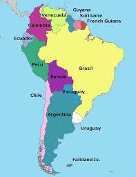 south america maps south america bolivia and uruguay