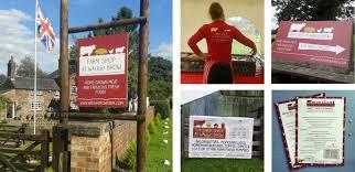 fi u0026 becs waugh brow farm shop logo u0026 website design knutsford