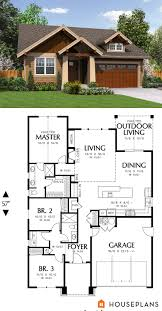 1500 sft cozy craftsman cottage plan houseplans plan 48 598