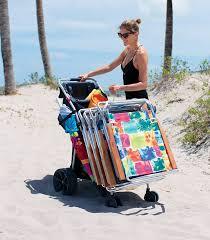 Rolling Beach Chair Cart Amazon Com Rio Beach Wonder Wheeler Wide Beach Cart Camping