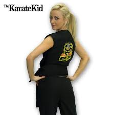Karate Kid Halloween Costume Cobra Kai Costume Female Cobra Kai Costume Karate