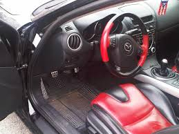 fs 2004 mazda rx8 gt 6 speed black w red and black leather