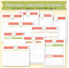 christmas u0026 holiday planner bundle live craft eat
