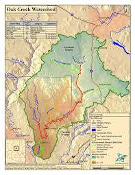 University Of Arizona Map Maps Oak Creek Watershed Council