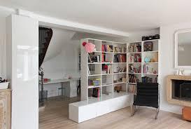 Stylish Bookshelf Bookshelf As Room Divider Houzz With Elegant Bookshelf Room